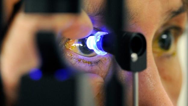 Das Forschungszentrum für Augenheilkunde soll ins Klybeck-Areal kommen