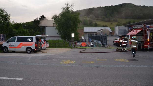 Bei dem Brand gab es drei Verletzte