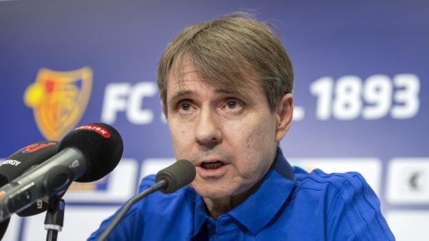 Bernhard Burgener wollte sich an der Pressekonferenz nicht aus der Ruhe bringen lassen.