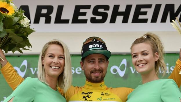 Zufriedene Gesichter bei der Tour de Suisse