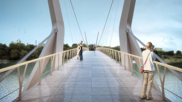 Visualisierung der Brücke