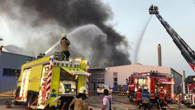 Feuerwehr in Pratteln