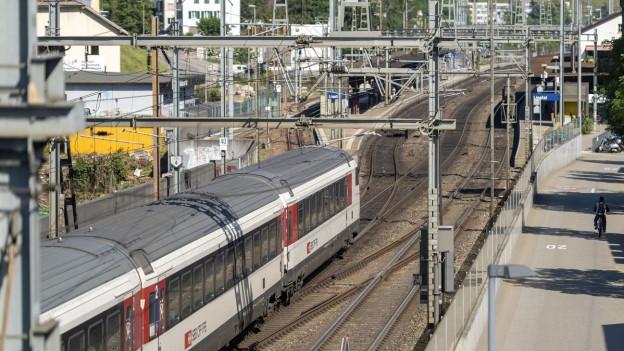 Viel verspätete Züge zwischen Basel und Zürich