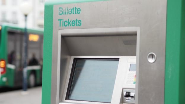 Die beiden Automaten am Euroirport verweigern immer wieder ihren Dienst bei Kartenzahlungen