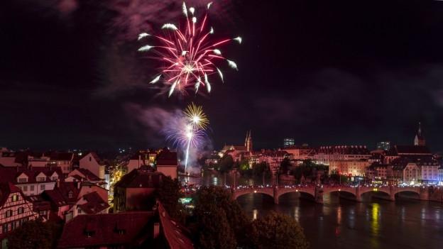 Höhepunkt um 23 Uhr: Das grosse Feuerwerk