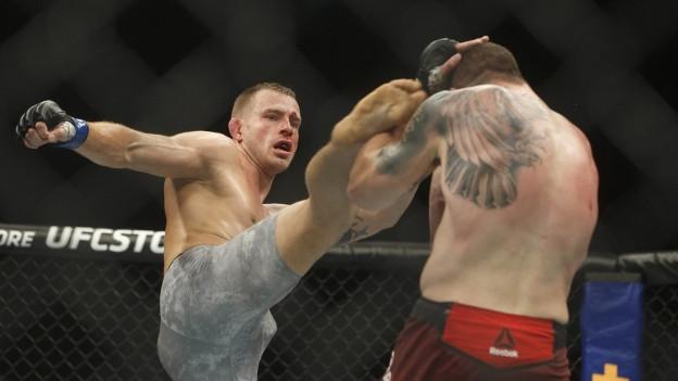 Der Kampfsport MMA ist wegen seiner Brutalität umstritten