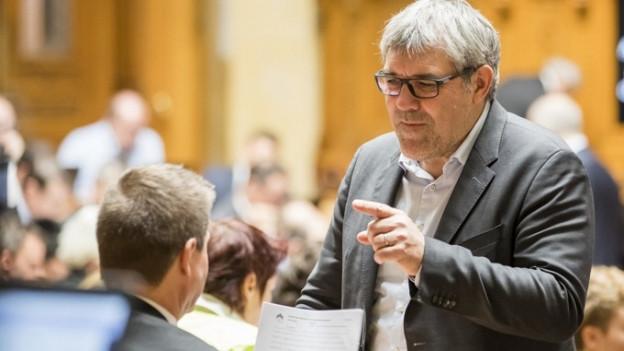 Eric Nussbaumer politisiert seit 12 Jahren in Bern