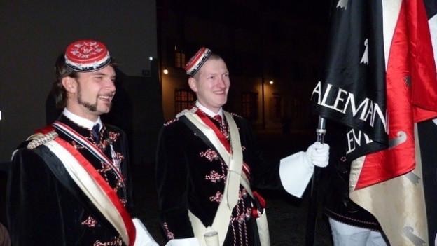 Die Studentenverbindung Alemannia gibt es seit 200 Jahren.