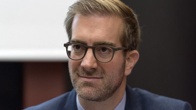 Der Basler Erziehungsdirektor Conradin Cramer.