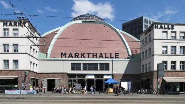Die Basler Markthalle