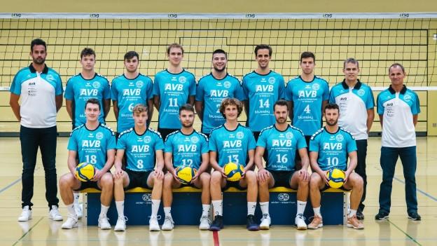 Die Mannschaft von Traktor Basel möchte in der Nationalliga A im Herren Volleyball durchstarten