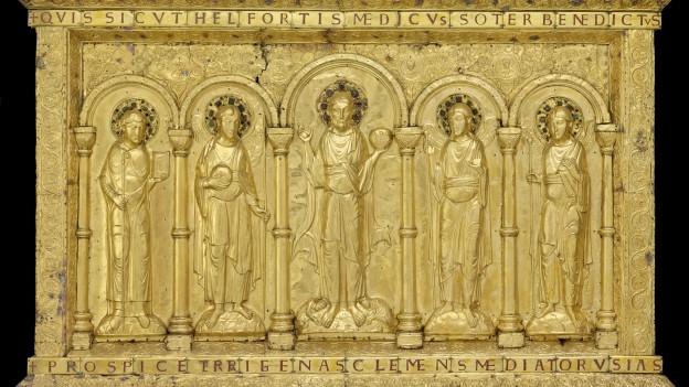 Die Münster-Altartafel ist zurück in Basel