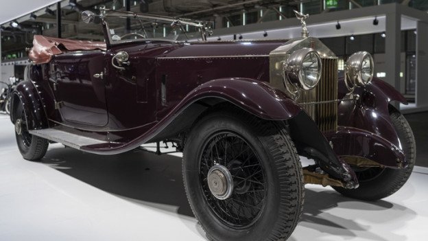 Ein Rolls Royce Phantom I aus dem Jahr 1925.