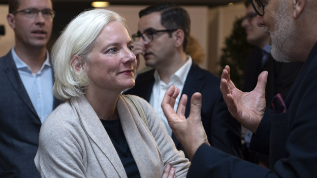 Nadine Gautschi von der FDP erlebte einen tristen Wahlsonntag