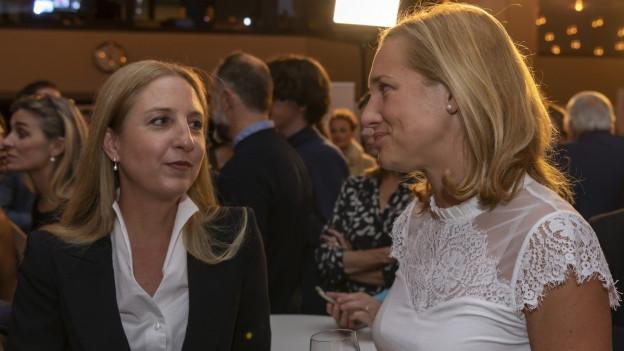 Erzielten das beste Resultat auf der GLP-Liste: Katja Christ und Esther Keller