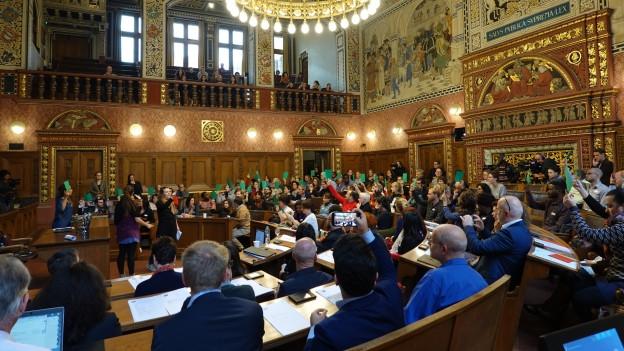 Bereits zum zweiten Mal fand diese Session am Wochenende im Basler Rathaus statt