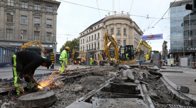 Baustelle Bankverein