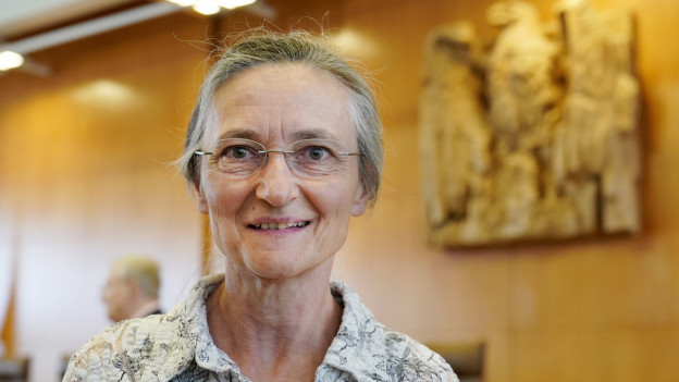 Erika Preisig begleitet kranke Menschen in den Tod.