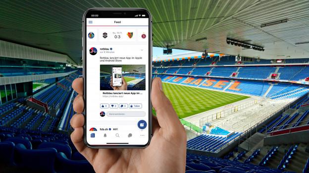 Die Rotblau-App berichtet aus einer Fansperspektive über den FC Basel.