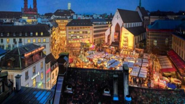 Rund eine Million Besucher am Basler Weihnachtsmarkt