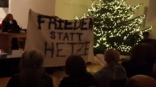 Vermummte an Heiligabend in Basler Kirche eingedrungen