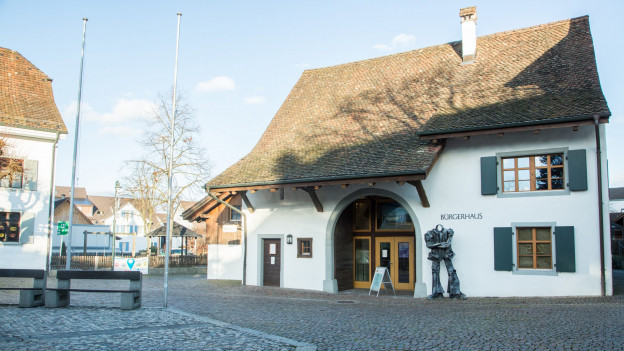 Das Bürgerhaus am Schmittiplatz wird am Sonntag eröffnet