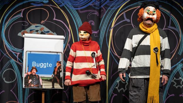 Der Spitzbueb bringt das Publikum auch in diesem Jahr mit spitzen Versen zum Lachen.