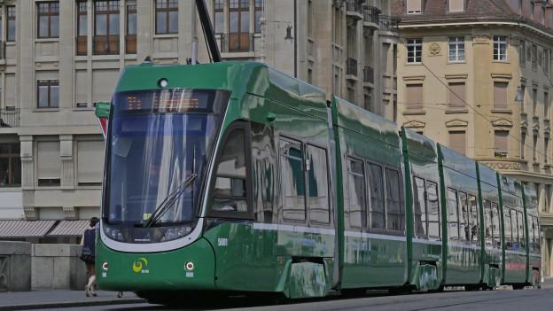 Trams der BVB verkehren grösstenteils wieder normal