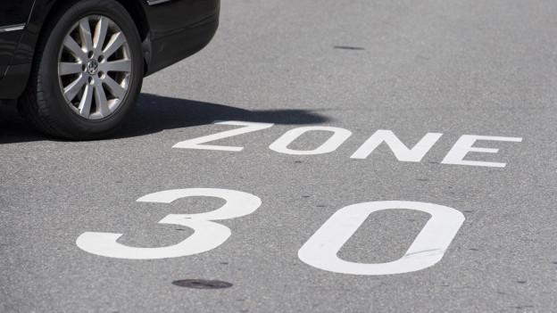 Anwohner fordern Tempo 30 in Allschwil