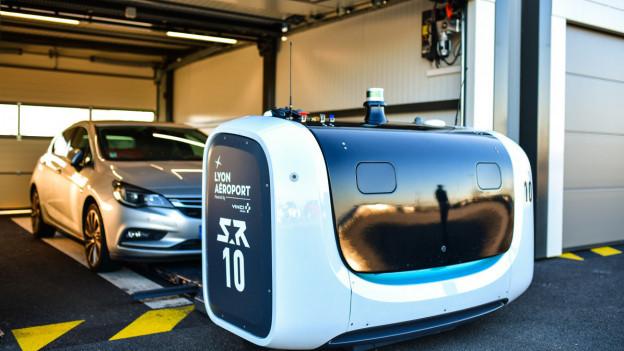 Am Flughafen Lyon wird das System bereits eingesetzt.