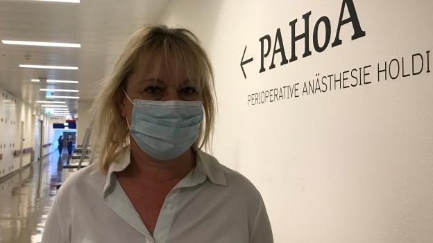 Arbeiten mit der Maske