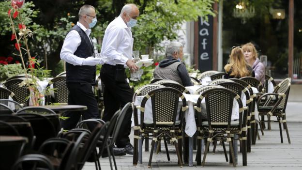 Mehr Aussenplätze sollen Restaurants retten