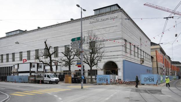 Basler Kunstmuseum von aussen