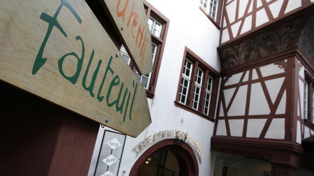 Das Theater Fauteuil am Spalenberg ist wie alle anderen seit Wochen dicht