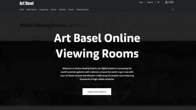 Online statt im Kleinbasel - die Art 2020 findet im Internet statt