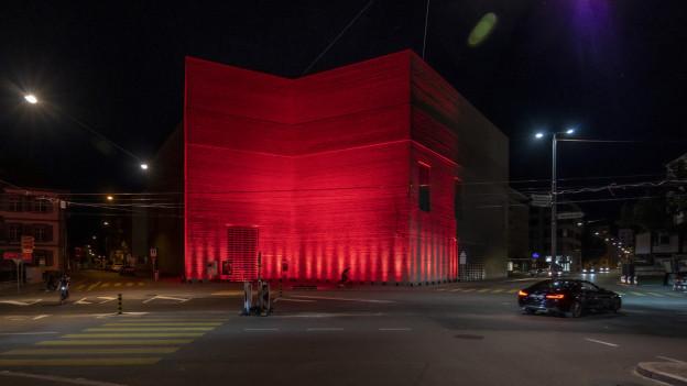 Kunstmuseum Basel an der Night of Light