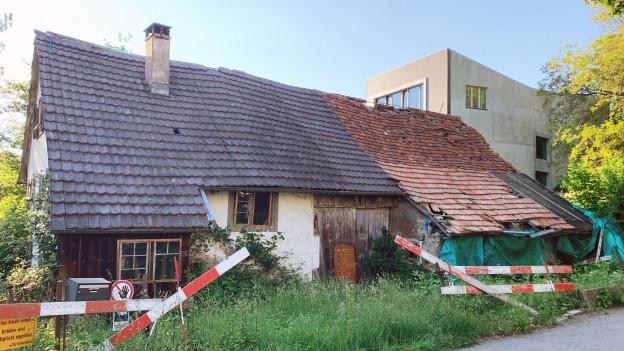 Das Bauernhaus in Bettingen steht seit den 70er-Jahren leer.