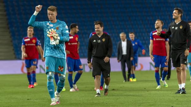 FCB-Goalie Jonas Omlin hielt einen Penalty