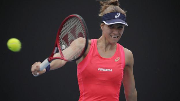 Mit dabei ist auch die Schweizerin Viktorija Golubic, Nummer 123 der Welt.