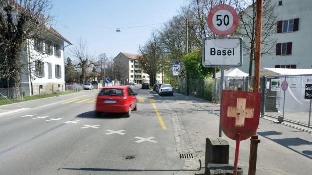 Aus Deutschland und Frankreich kommen immer weniger Grenzgänger nach Basel