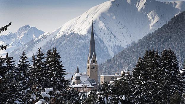 Davos genehmigt den Kredit für Olympia.