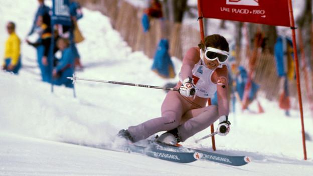 Erika Hess in den 80er Jahren auf Erfolgskurs.
