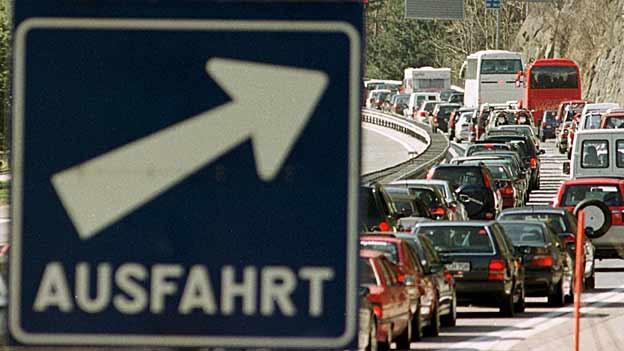 Die Autobahnausfahrt Chur Nord führt zu keinen Staus mehr.