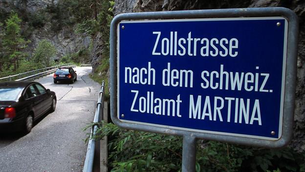 Die Strasse nach Samnaun soll mit einem Tunnel vor Lawinen gesichert werden.