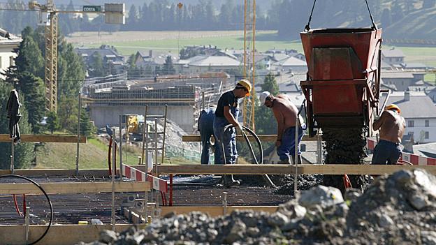 Lärmige Bauarbeiten sollen auf der Lenzerheide zeitweise verboten werden.