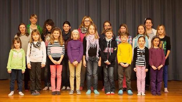 Der Kinderchor Prättigau gibt jedes Jahr zwei Konzerte.