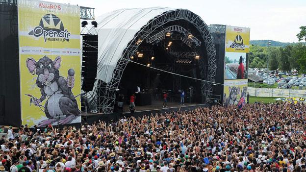 138 000 Besucher kamen ans Open Air Frauenfeld.