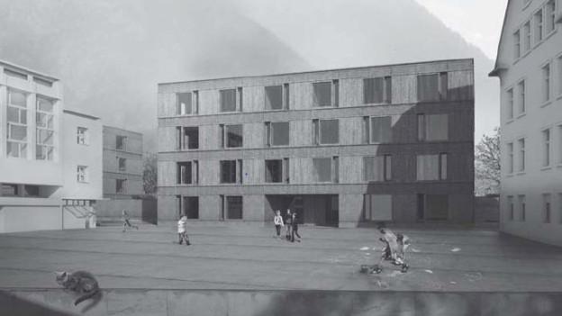 Zwei geplante Neubauten geben in Landquart zu reden.