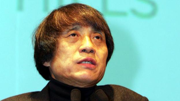 Der japanische Architekt Tadao Ando.