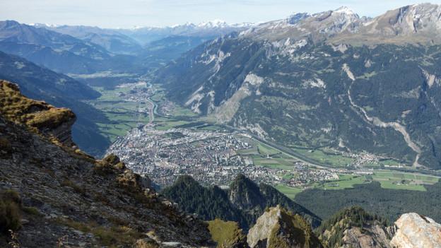 Das Churer Rheintal ist für Unternehmen die attraktivste Region Graubündens.